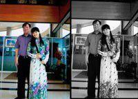 2 vợ chồng