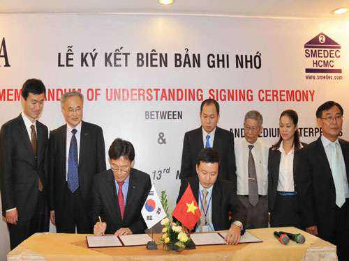 Hàn Quốc hỗ trợ doanh nghiệp vừa và nhỏ VN