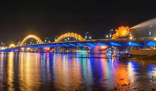 Cầu Rồng vào top công trình chiếu sáng xuất sắc thế giới